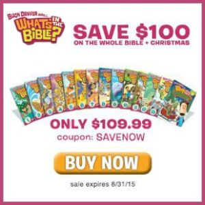 Save $100 on the entire What's in the Bible? DVD collection