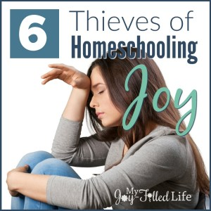 6 Thieves of Homeschooling Joy