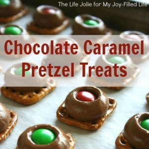 Chocolate Caramel Pretzel Treats