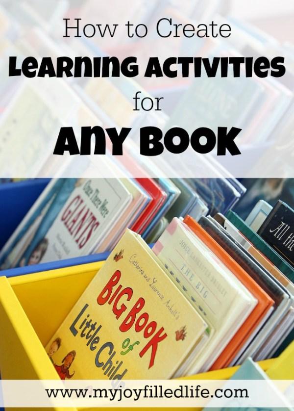 joy filled book activities