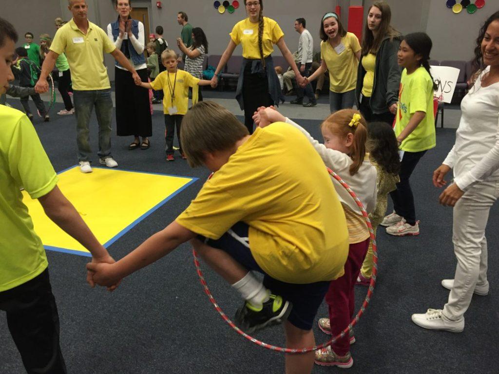 Hula Hoop Slide game