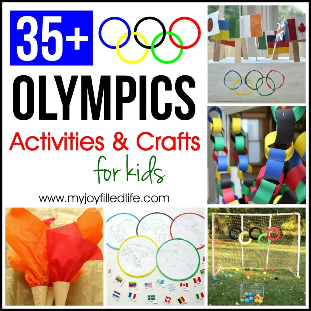 35 Olympics Activities Amp Crafts For Kids