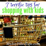 7 Terrific Tips to Make Shopping with Kids Easy
