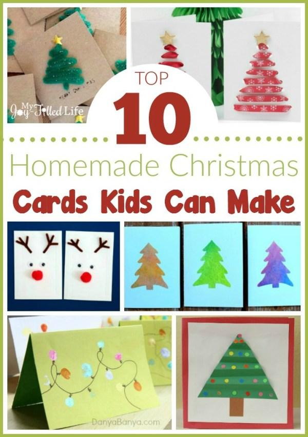 Top 10 Homemade Christmas Cards Kids Can Make