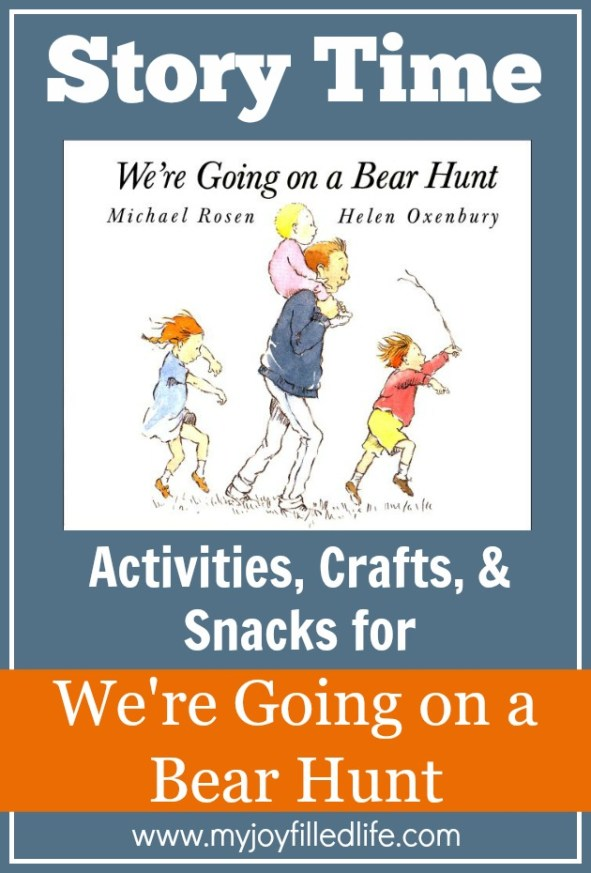 We're Going on a Bear Hunt - Story Time Activities