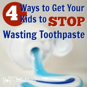 4 Ways to Get Your Kids to Stop Wasting Toothpaste