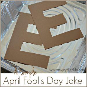 Simple April Fool's Day Joke – Brown E's