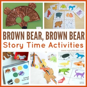 Brown Bear, Brown Bear Story Time Activities