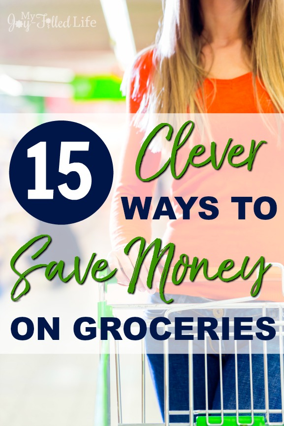 If you are tired of spending tons of money on grociers, check out thes 15 clever ways to save money on groceries