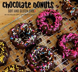 Soft Chocolate Gluten-Free Donuts