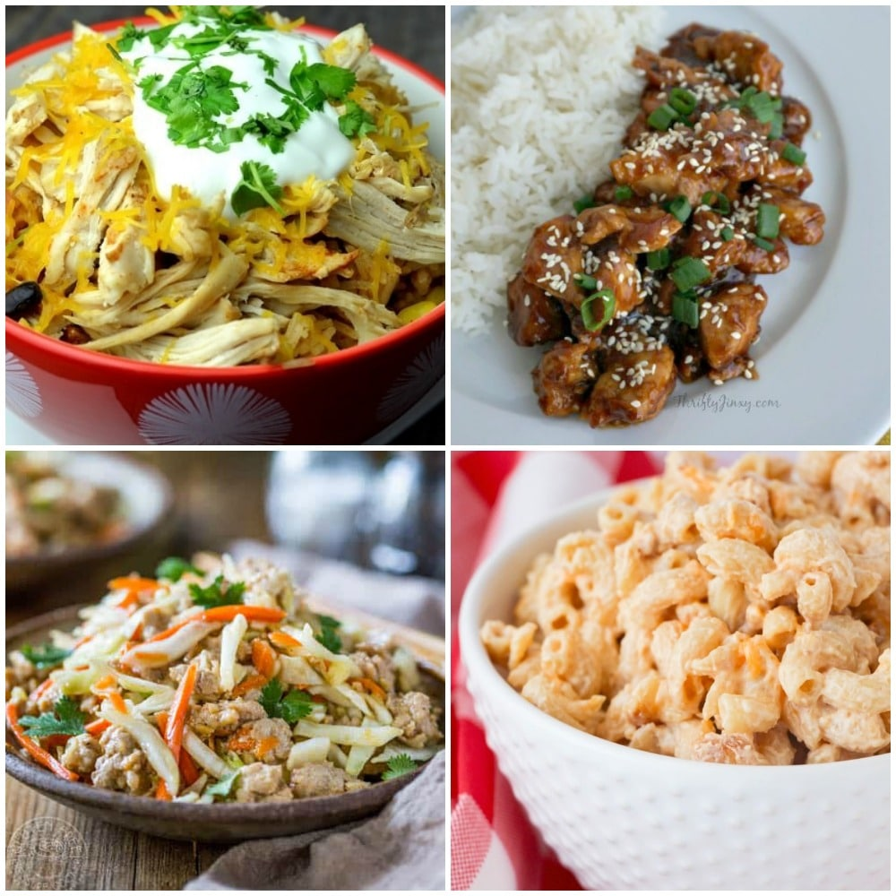 Instant Pot Recipes Ready in 20 minutes or Less