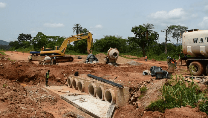 Rolider Construction LTD makes progress on Hohoe-Jasikan stretch 2