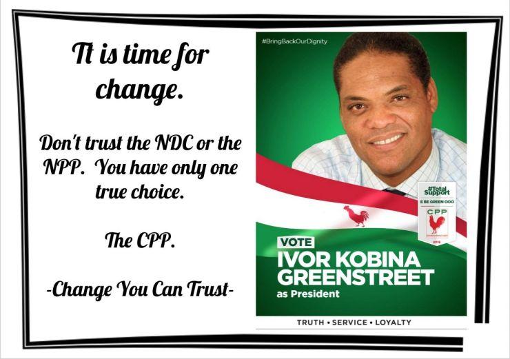 Ghanaians Shouldn't Trust NPP And NDC, Ivor Greenstreet. 8