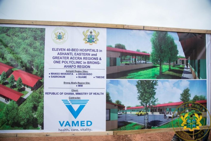 €71.5m secured for 12 new hospitals; all to be completed in 24 months – Akufo-Addo 5