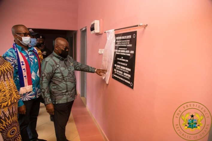 €71.5m secured for 12 new hospitals; all to be completed in 24 months – Akufo-Addo 1