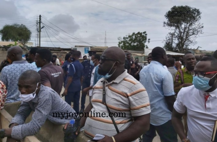 police at cape coast north electoral office