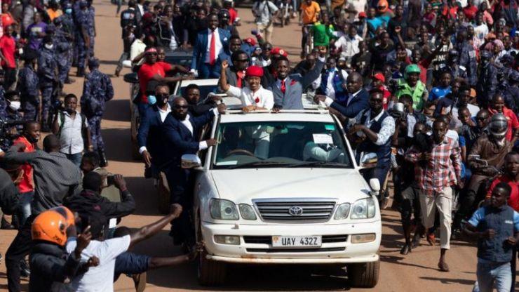 Bobi Wine's arrest sparks deadly Uganda protests. 4