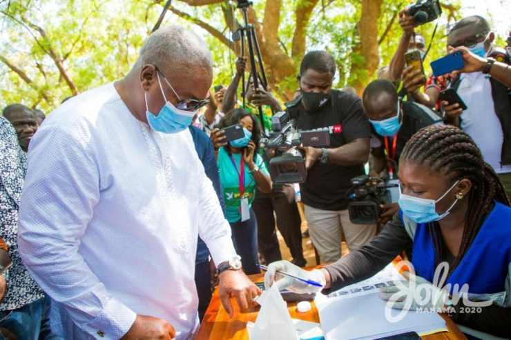 My bodyguard's name has been removed from the register - Mahama laments. 14