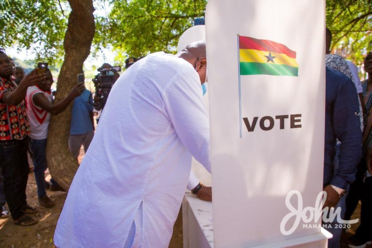 My bodyguard's name has been removed from the register - Mahama laments. 16