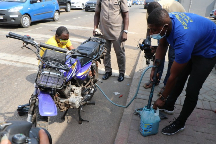 OMV & Sons launch road safety solution in Ghana 10
