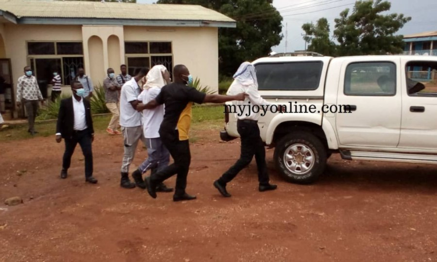 Police officers involved in death, secret burial of inmate at Seikwa remanded 5