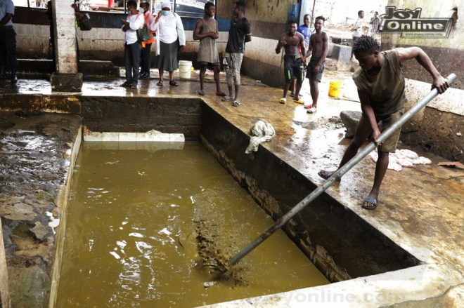 AMA officials clamp down on illegal slaughterhouse operating under unsanitary conditions at Avenor
