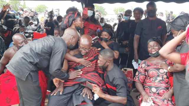 Slain police officer, Emmanuel Osei promoted to Lance Corporal
