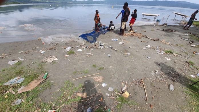 Where is busumana? A lake living in fear