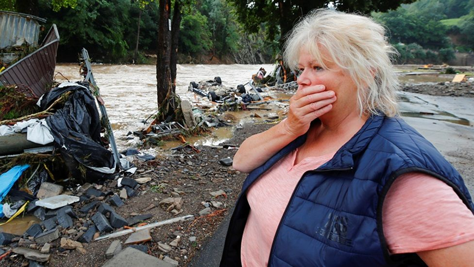 Germany floods: At least 33 dead and dozens missing after record rain
