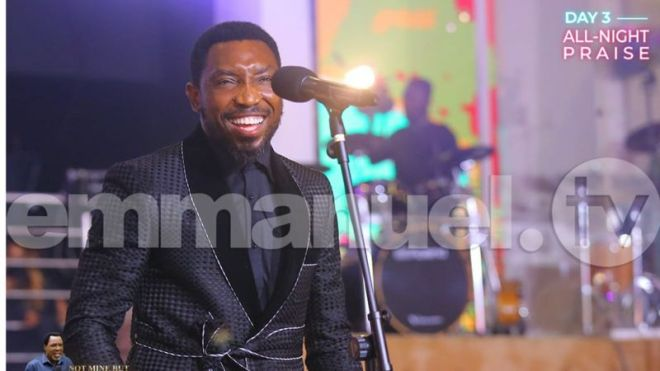 Photos: Prophet TB Joshua laid in state at Synagogue Church of All Nations