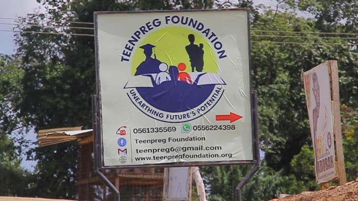 Meet victim of teenage pregnancy supporting 400 teenage mothers to be independent