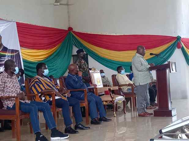 We'll always remain blue and never green again - Togbe Keh VII to Akufo-Addo