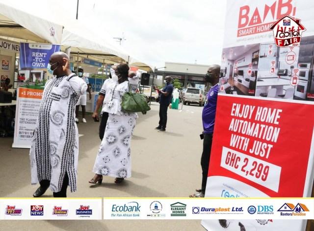 Massive turnout at first mini-clinic of 2021 JoyNews Ecobank Habitat Fair