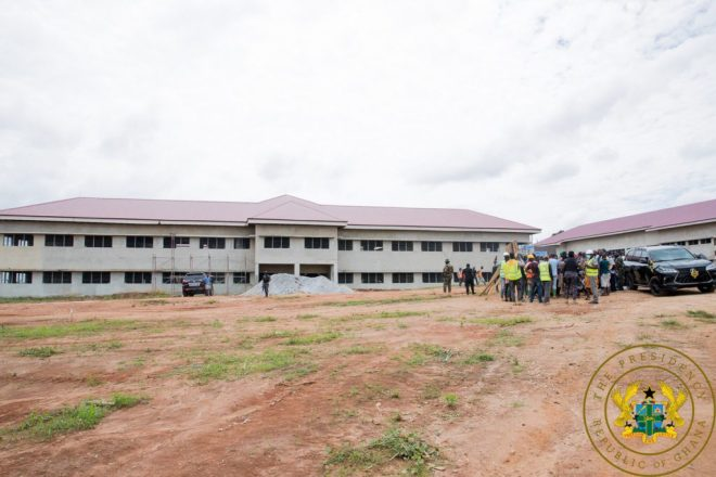 Creative Arts, J. A. Kufuor and Bosomtwe Girls SHSs ready for use in 2022 - Akufo-Addo
