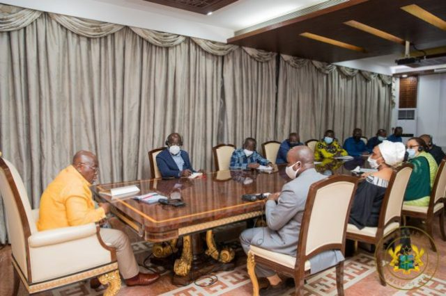 Le président ghanéen reçoit une délégation de la junte militaire guinéenne, et réitère son appel au retour à la démocratie