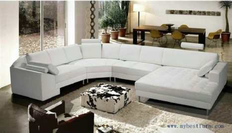 Free-Shipping-Extra-Large-Size-U-shaped-Villa-font-b-couch-b-font-Genuine-leather-sofa