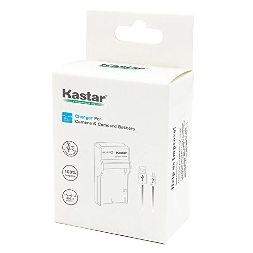 Kastar Slim LCD USB Charger for Nikon EN-EL19 MH-66