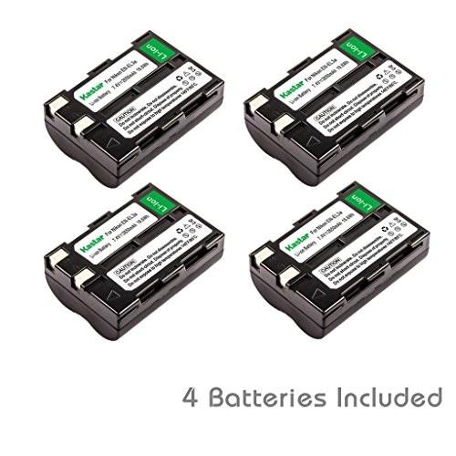 Kastar EN-EL3A Battery (4-Pack) for Nikon EN-EL3a, EN-EL3