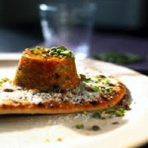 Budino di carote con pane naan  mykebabit