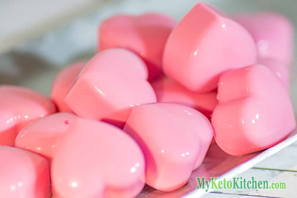 Ketogenic Raspberry Cream Fat Bombs