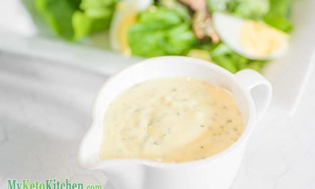 Low Carb Caesar Salad Dressing