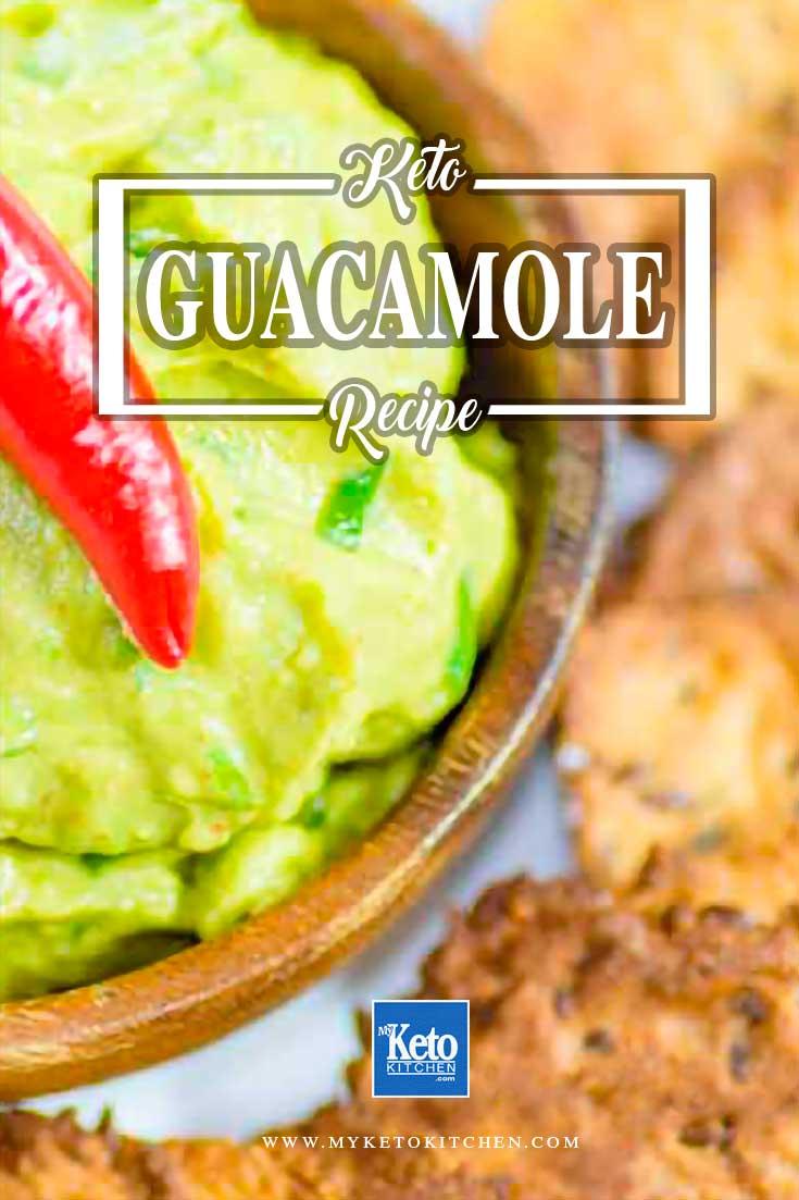 Keto Guacamole Recipe Homemade