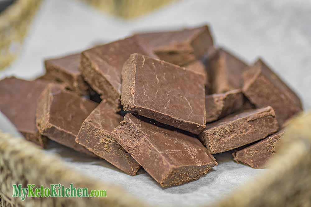 keto chocolate fudge