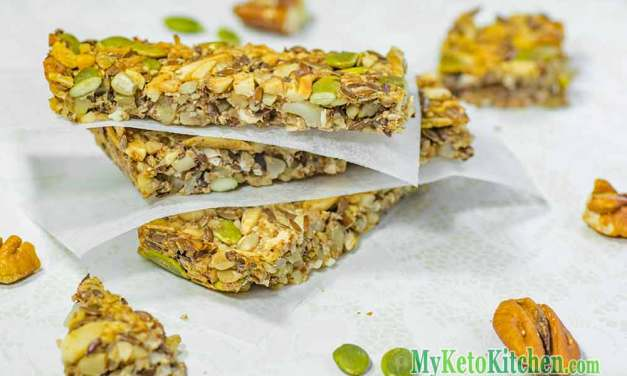 Ketogenic Low Carb Granola Bars Snacks