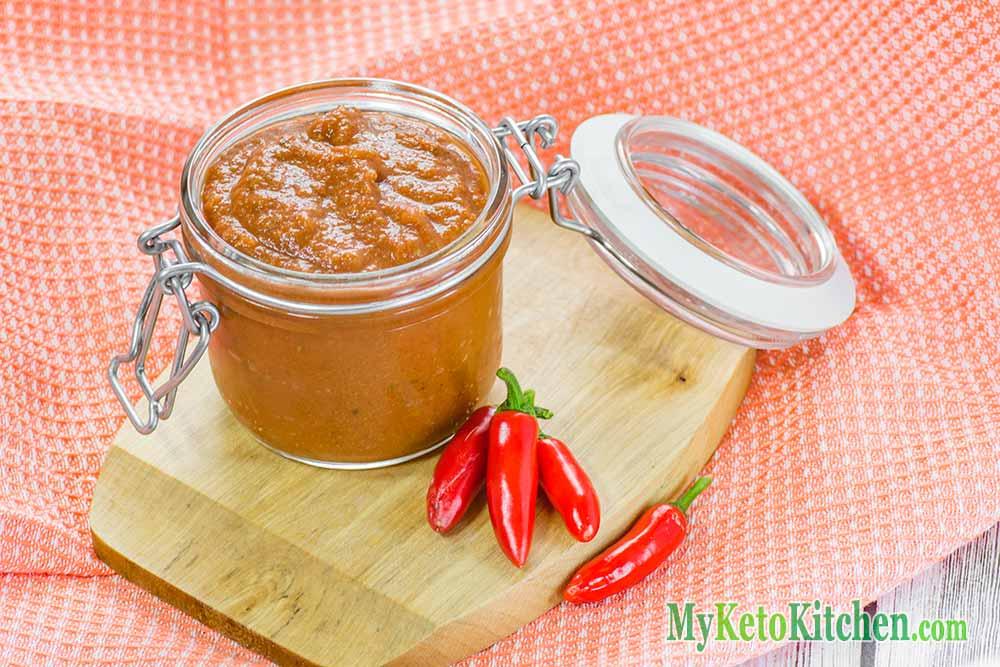 Keto Enchilada Sauce