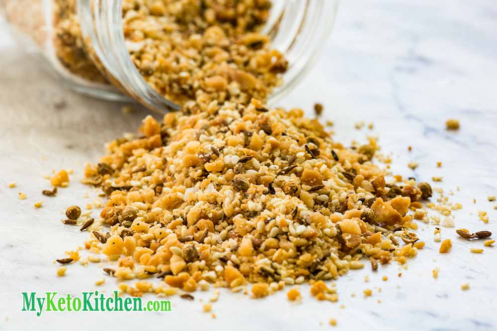 Low Carb Macadamia Nut Dukkah
