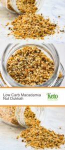 Low Carb Macadamia Nut Dukkah