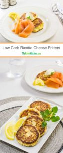 Low Carb Ricotta Cheese Fritters