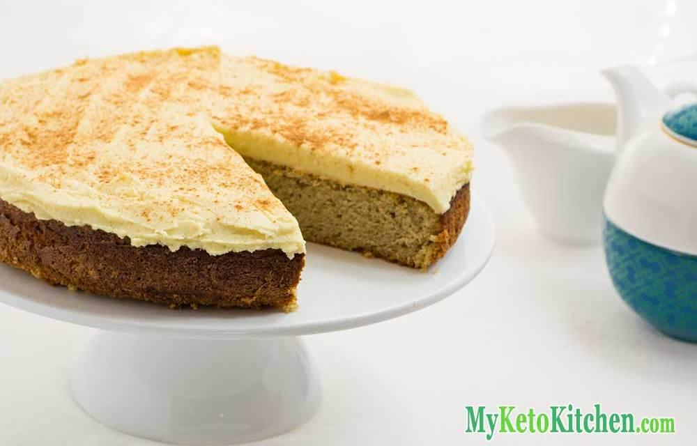 Keto Cake Recipe Vanilla: Cinnamon And Nutmeg