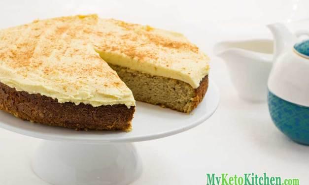 Keto Cake Recipe – Cinnamon and Nutmeg – Moist & Sweet!